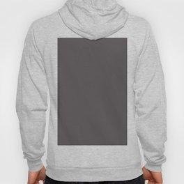 Solid Dark Gray Wolf Color Hoody