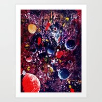 big bang Art Prints featuring Big Bang by Dyna-Soar!