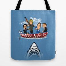 Fish Punch Tote Bag