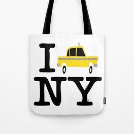 New York Yellow Cab logo Tote Bag