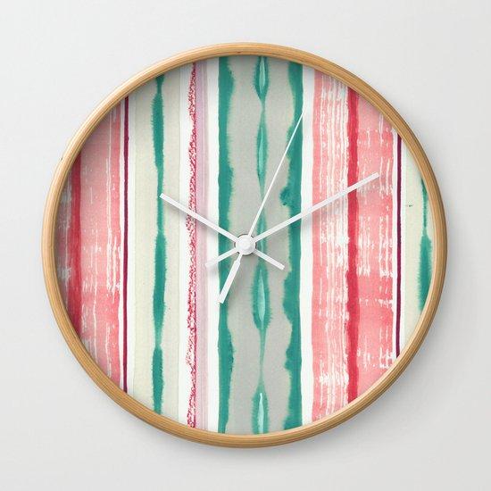 Canyon Stripe Wall Clock