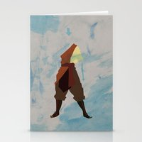 aang Stationery Cards featuring Aang by JHTY