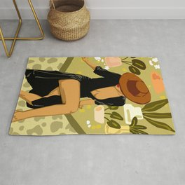 Make it Worth Their While, The Little Black Dress Rug