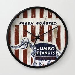 Jumbo Peanuts Wall Clock