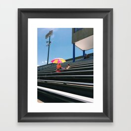 A Mass of Seats Framed Art Print