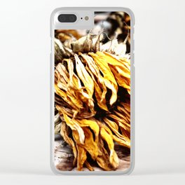 Faded Away Clear iPhone Case