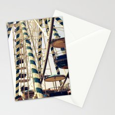 Vintage Ferris Wheel in Marseilles, France Stationery Cards