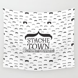 Stache Town Wall Tapestry