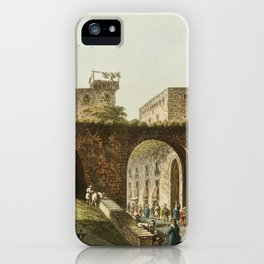 Part of Jerusalem from Views in the Ottoman Dominions, in Europe, in Asia, and some of the Mediterra iPhone Case