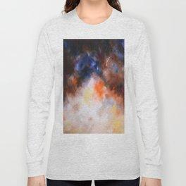 Autumn rain abstract, flipped Long Sleeve T-shirt
