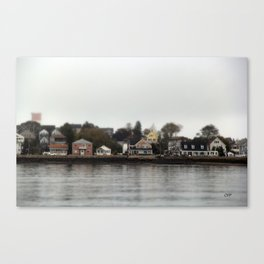 Winthrop Waterfront Canvas Print
