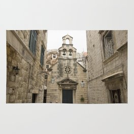 The Quiet Backstreets of Dubrovnik Rug