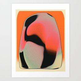 COSMIC FRUIT 5 Art Print