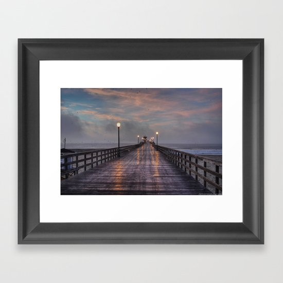 Purple Haze Framed Art Print