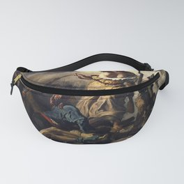 LIBERTY LEADING THE PEOPLE - EUGENE DELACROIX Fanny Pack