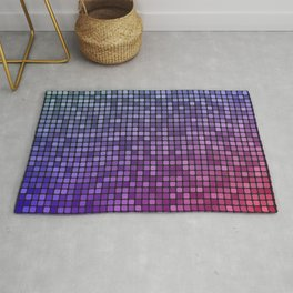 Colorful mosaic Rug