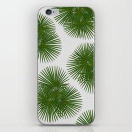Fan Palm, Tropical Decor iPhone Skin