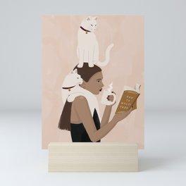 Multi Tasking Mini Art Print