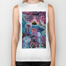 Dreams in digital Biker Tank