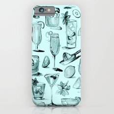 Summer Cocktails in Blue Slim Case iPhone 6s