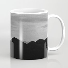 Fine mountains lines Coffee Mug
