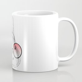 rabbit's glasses Coffee Mug