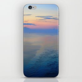 Abstract Sunrise Sailing Into Boston iPhone Skin