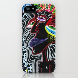Solitary Madness iPhone Case