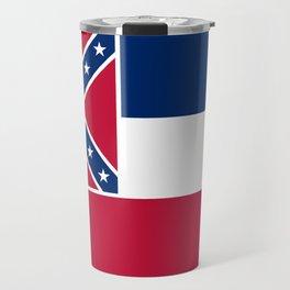Flag of Mississippi - High quality authentic Travel Mug