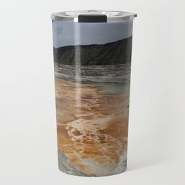 Mammoth Hot Spring Colors Travel Mug
