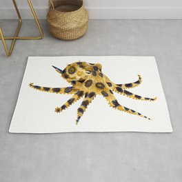 BLUE RINGED OCTOPUS Rug