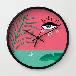 Petite Fleur 1 Wall Clock
