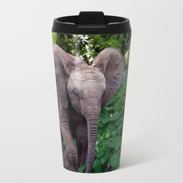 Elephant and Jungle Travel Mug