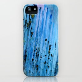 Blue Cave iPhone Case