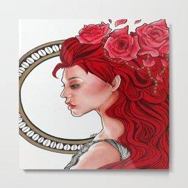 Belle Rose Metal Print