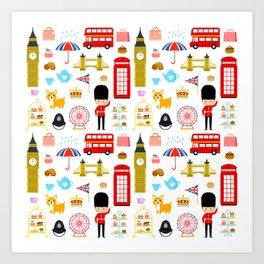Enjoy London! Art Print
