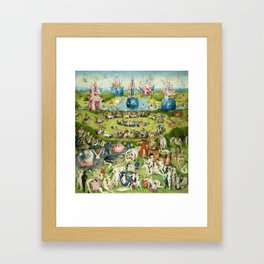 The Garden of Earthly Delights by Hieronymus Bosch Framed Art Print