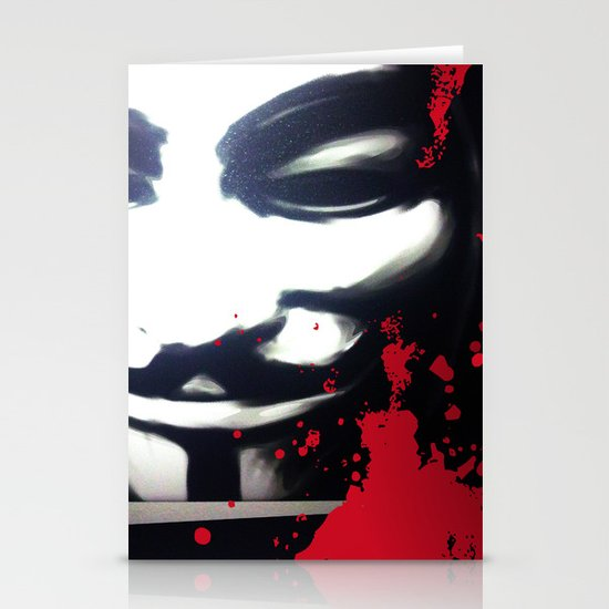 VENDETTA for IPhone Stationery Cards