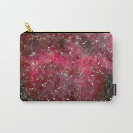 Pink Galaxy Low Poly 31 Carry-All Pouch