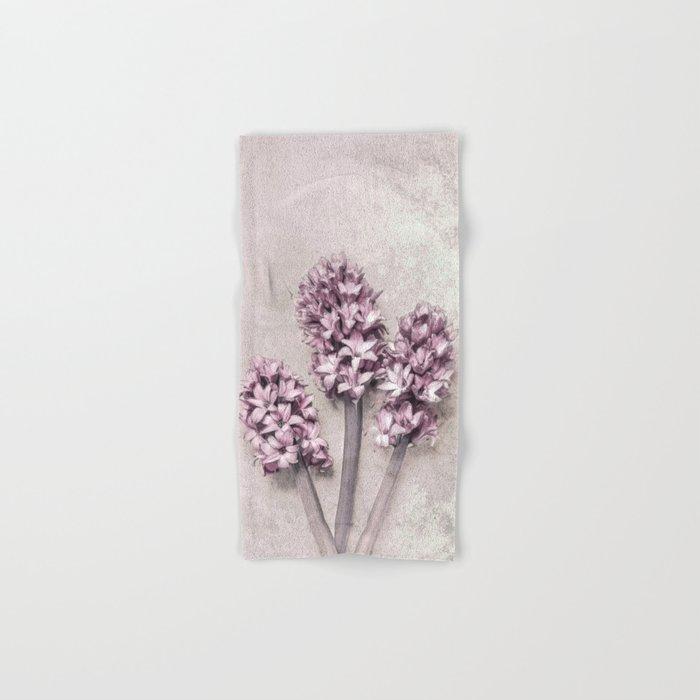 Delicate Hyacinths Hand & Bath Towel