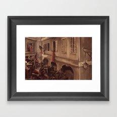 The Barricade Framed Art Print