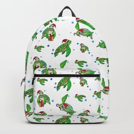 Holiday Sea Turtles Backpack