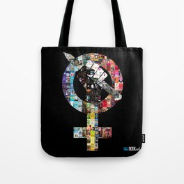 Who Run the World? Bookish Girls Tote Bag