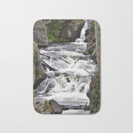 Yellowstone Firehole Falls Bath Mat