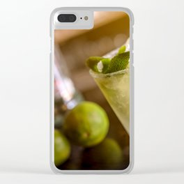 Cocktail drink Clear iPhone Case