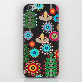 Waltz of the flowers .  2 Retro iPhone Skin