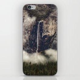 Bridalveil Fall and Clouds  11-23-18 iPhone Skin