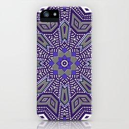Indigo Power Geometrica iPhone Case