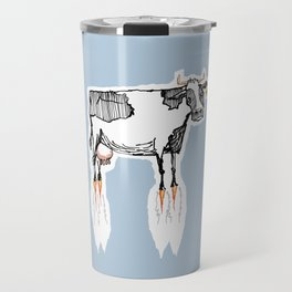 and no-one thought to ask if cows could fly Travel Mug