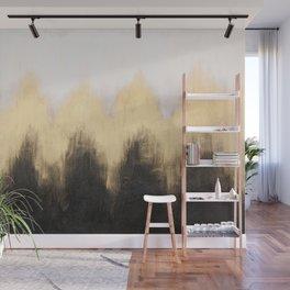 Metallic Abstract Wall Mural
